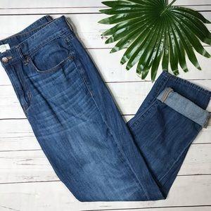 {J. Crew} sz 29 boyfriend jeans in Ontario wash